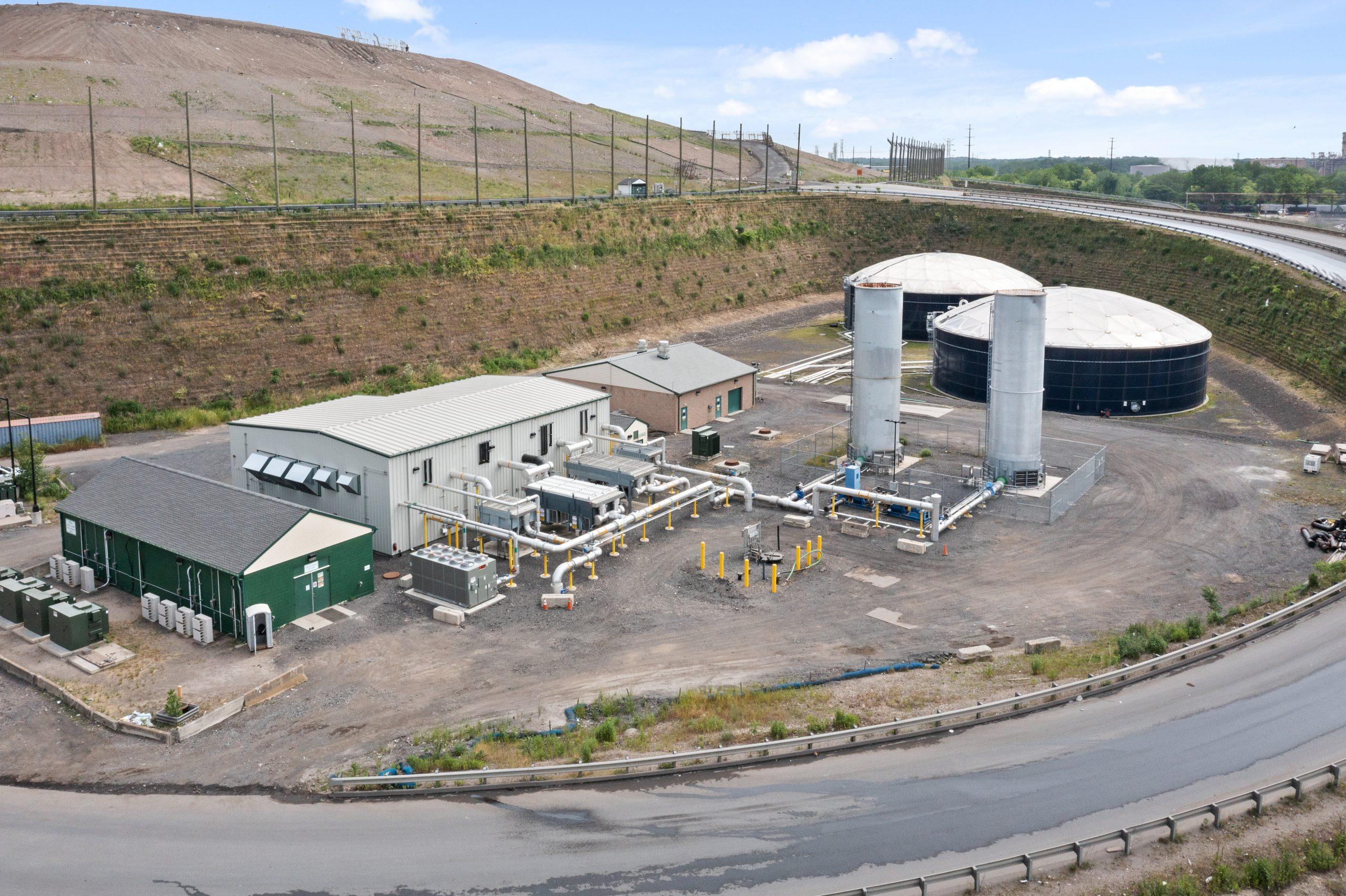 Waste Management Fairless Landfill LFG Blower/Dehydration Station Expansion